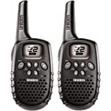 Uniden GMR1635-2 16 Mile 22 Channel Battery FRS/GMRS Two-Way Radios Pair, Black