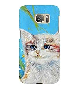 EPICCASE art cat Mobile Back Case Cover For Samsung Galaxy S7 Edge (Designer Case)