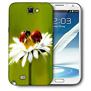 Snoogg Beatel And Water Drops Printed Protective Phone Back Case Cover For Samsung Galaxy Note 2 / Note II