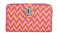 Vera Bradley Turn Lock Wallet, ziggy…