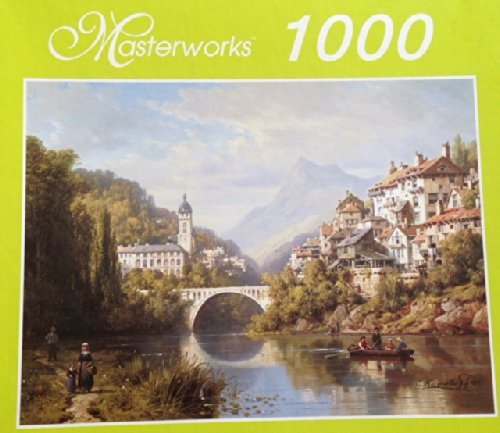 Masterworks A River In Alsace 1000 Piece Jigsaw Puzzle