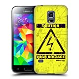 Head Case Designs High Voltage Hazard Symbols Protective Snap-on Hard Back Case Cover for Samsung Galaxy S5 mini...