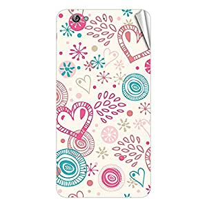 Garmor Designer Mobile Skin Sticker For Gionee GN320 - Mobile Sticker