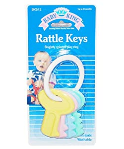 Baby King Rattle Keys