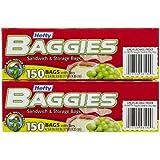 Hefty Baggies Sandwich Bags - 150 ct - 2 pk