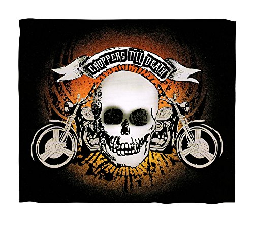 Skull Throw Blanket front-1070666