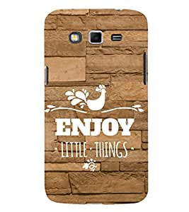 EPICCASE happiness quotes Mobile Back Case Cover For Samsung Galaxy Grand Prime (Designer Case)