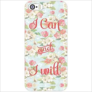 Apple iPhone 5S Back Cover - Can & Will Designer Cases