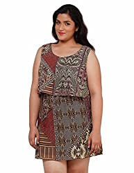 Oxolloxo Plus size designer dress