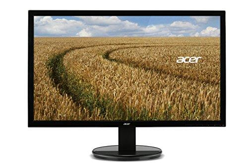 Acer K192HQLB Monitor 18.5 Pollici, LED, VGA, Risoluzione 1366 x 768, Luminosità 200 cd/m2, Nero