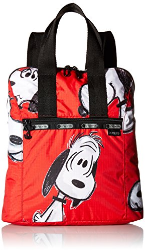 lesportsac-womens-x-peanuts-everyday-backpack-snoopy-fun-red
