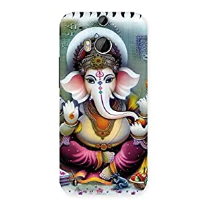 Gorgeous Ganesha Blessings Back Case Cover for HTC One M8