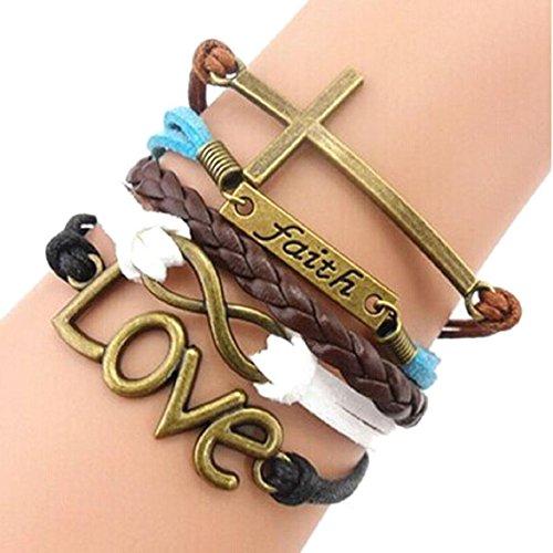 SusenstoneHandmade-Adjustable-Multilayer-Bracelet-Wristband