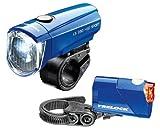 TRELOCK LED Leuchten Set LS 350/710 I-Go Sport Reego blau ~ 15 Lux Picture
