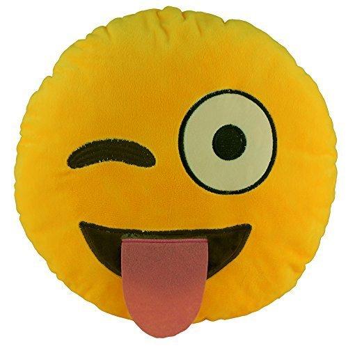 138-emoji-smiley-naughty-emoticon-round-cushion-pillow-stuffed-plush-soft-toy-gift