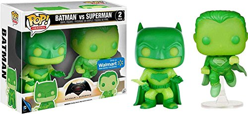 Funko Pop Batman Vs. Superman Glow