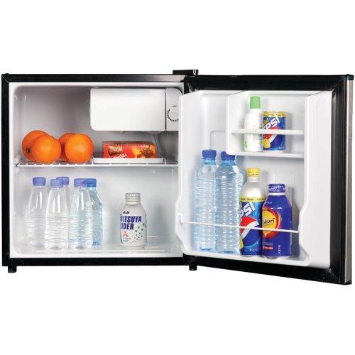 Magic Chef MCBR170BMD 1.7 Cubic Feet Refrigerator, Black