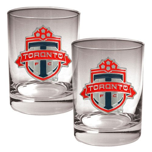 Sale alerts for Great American Products Great American Products Gdrgdr2612 2Pc Rocks Glass Set- Primary Team Logo- Mls Toronto Toronto Fc - Covvet