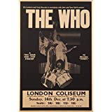 Posters Original Quotes Decorative THE WHO Music Band Poster Size News Paper Size 14 Inch X 26 Inch Great Designs High Quality Matte Finish 32 Micron Lamination Thick 300 Gsm Imported Paper Multi Colour Digital HD Printing Home And Office