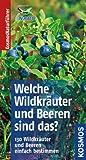 Welche Wildkr�uter und Beeren sind das?: 130 Wildkr�uter und Beeren einfach bestimmen (Kosmos-Naturf�hrer Basics)