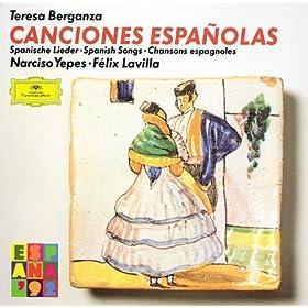 Garc�a Lorca: Trece Canciones Espanolas Antiguas - Sevillanas Del Siglo XVIII