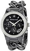 Michael Kors Womens MK5388 Ceramic Classic Chronograph Black