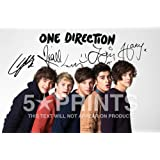 "One Direction Photo Poster Signed PP Niall Harry Styles Zayn Louis Liam 12x8"" Perfect Giftby One Direction"