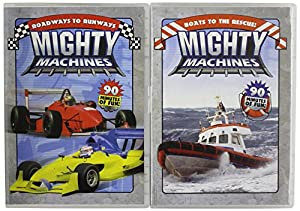 Mighty Machines: Roadways to Runways/Boats to the Rescue!