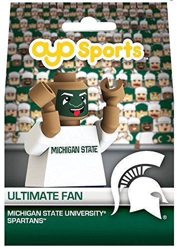 Michigan State Spartans NCAA Ultimate Fan Mini OYO Figure
