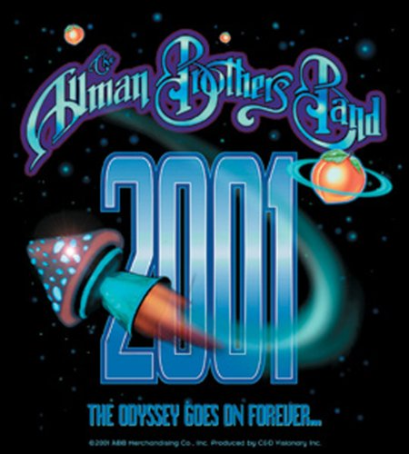Licenses Products Allman Bros. Rocket Shroom Sticker