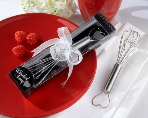 Love and Hearts Whisked Away Heart Whisk [Set of 96]
