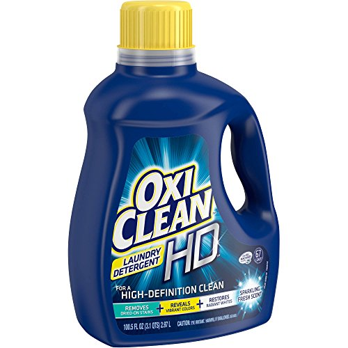 OxiClean HD Sparkling Fresh Scent Liquid Laundry Detergent (100.5 fl oz) (Oxi Detergent compare prices)