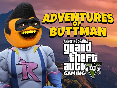 Clip: Adventures of Buttman (Annoying Orange Grand Theft Auto V Gaming) - Season 1