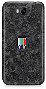 Huawei Honor Bee Back Cover by Vcrome,Premium Quality Designer Printed Lightweight Slim Fit Matte Finish Hard Case Back Cover for Huawei Honor Bee