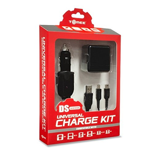 Universal Charge Kit for New 3DS/ New 3DS XL/ 2DS/ 3DS XL/ 3DS/ DSi XL/ DSi/ DS Lite - Tomee (Portable 3ds Charger compare prices)