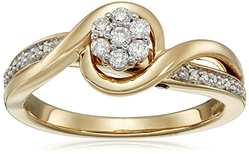 Yellow-Plating-Over-Sterling-Silver-with-Diamond-Promise-Ring-15cttw-I-J-Color-I2-I3-Clarity