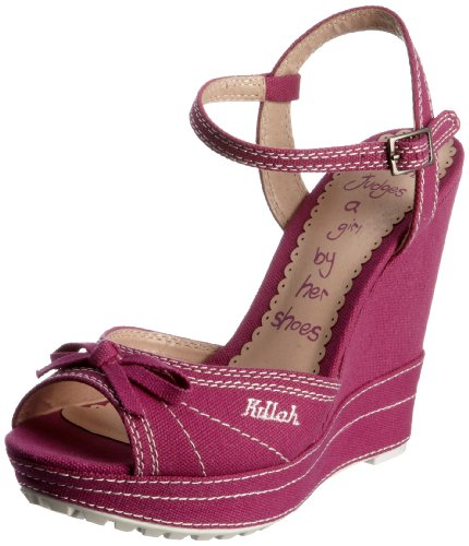 Killah Women's Taylor Fuxia Wedges M00764-TE9245-D02700 6 UK, 39 EU