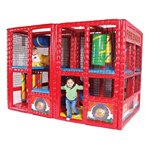 Fire Engine Contained Play Center