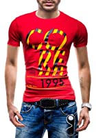 BOLF - T-Shirt à manches courtes - GLO STORY 5434 - Homme