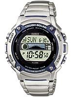 Casio - W-S210HD-1AVEF - Montre Homme - Quartz - Digitale - Bracelet Acier inoxydable Argent