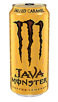Java Monster Coffee Energy Drink, 15 Ounce (Pack of 12)
