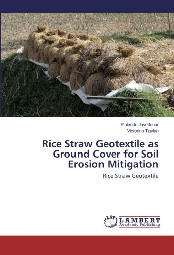 Rice Straw Geotextile as Ground Cover for Soil Erosion Mitigation: Rice Straw Geotextile (Rice Straw compare prices)