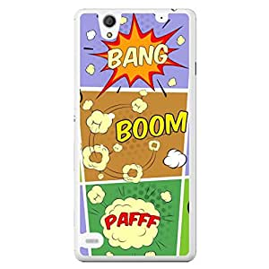 a AND b Designer Printed Mobile Back Cover / Back Case For Sony Xperia C4 (SONY_C4_931)