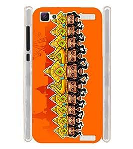 Ravana Ravan Ravanasurudu Soft Silicon Rubberized Back Case Cover for Vivo V1 Max