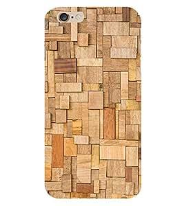WOODEN BLOCKS Designer Back Case Cover for Apple iPhone 6