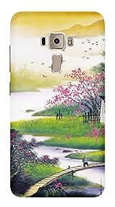 TrilMil Premium Design Back Cover Case For Asus ZenFone 3 ZE552KL