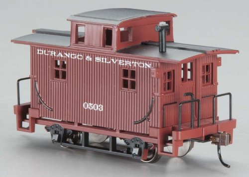 Bachmann Trains Durango And Silverton Bobber Caboose-Ho Scale