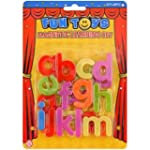 Fun Toys - 26 Lettres Minuscules Magn...