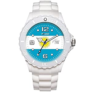 TIME100 Memorial National World Cup Classic Silicone Strap Argentina Outdoor Sports Digital Watch #W40113M.02A