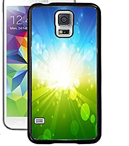 ColourCraft Beautiful Sun Rays Design Back Case Cover for SAMSUNG GALAXY S5 NEO